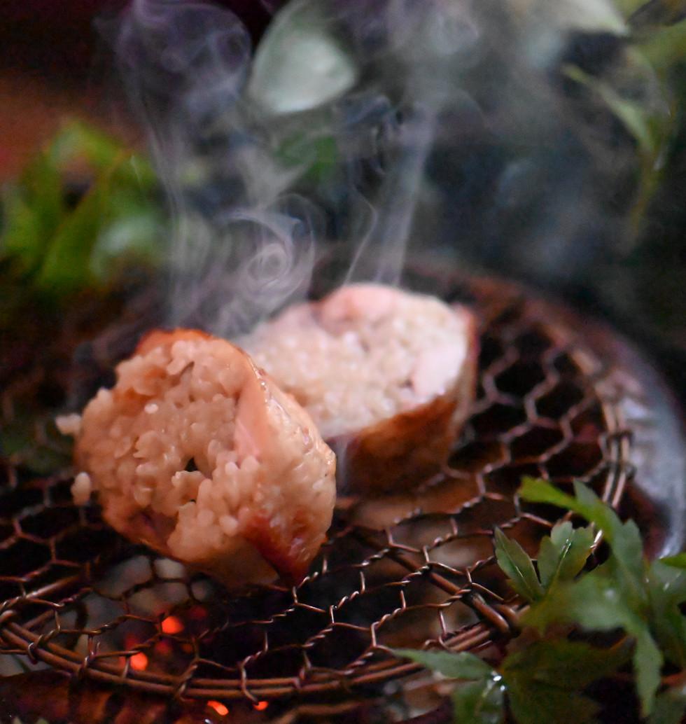 Chicken Wings w/ Sansho Rice Fillings