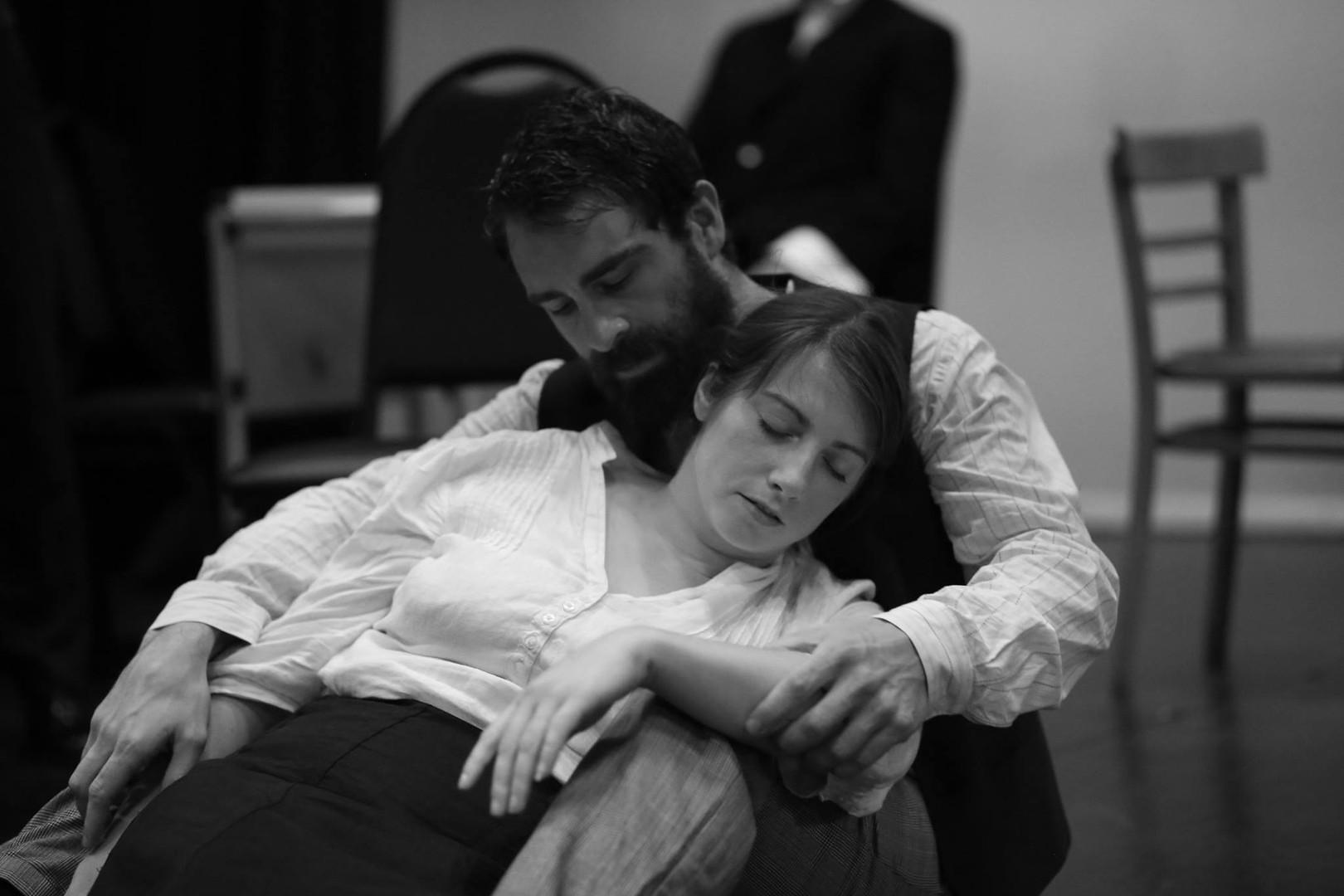 Richard Dadd holds Emily