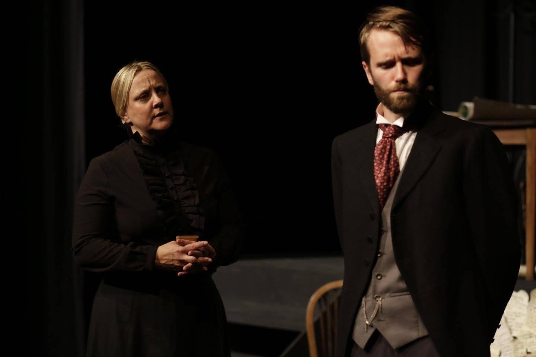 Ward Sister Grey & Dr Haydon argue