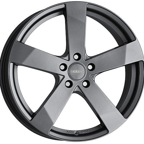 Dezent TD alloy wheels finished in graphite or black