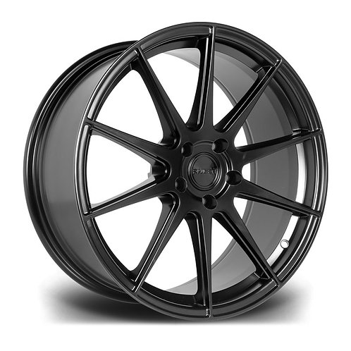 Riviera RV194 19x8.5J alloy wheels finished in matt black