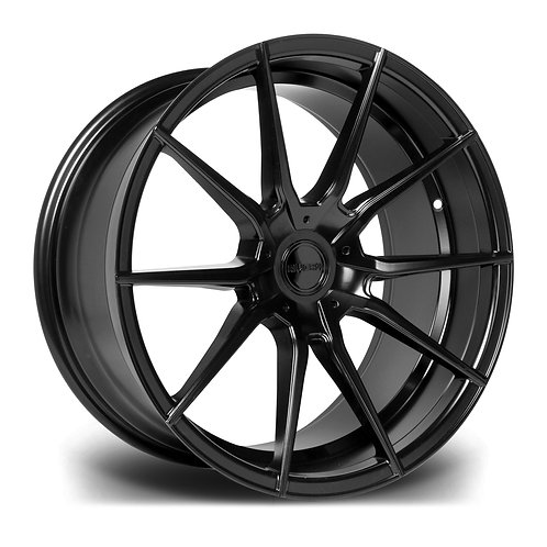 Riviera RV193 19x8.5J alloy wheels finished in matt black