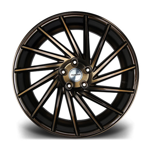 Riviera RV135 19x8.5 alloy wheels finished in black bronze