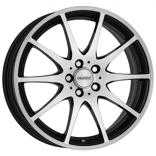 Dezent TI alloy wheels finished in polished black or silver