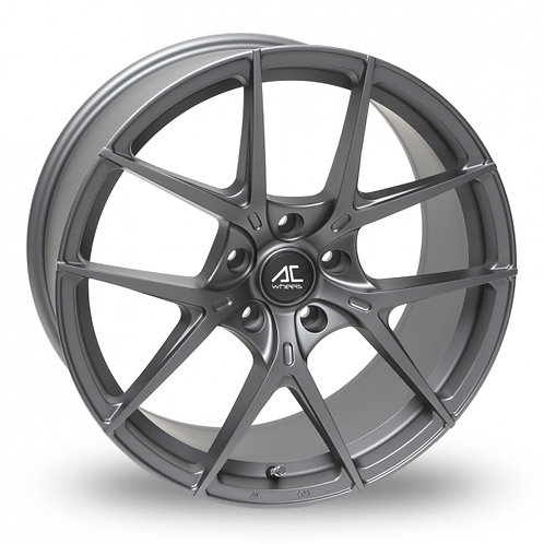 "Ac wheels Supermo 19"" alloy wheels finished in matt grey (5x120)"