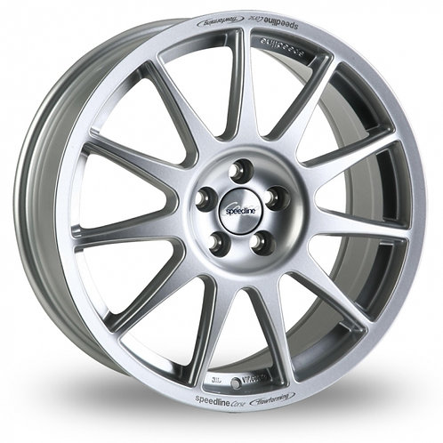 "Speedline Turini 15"" alloy wheels finished in Silver"
