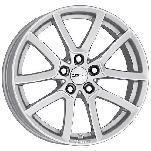 Dezent TF alloy wheels finished in Silver