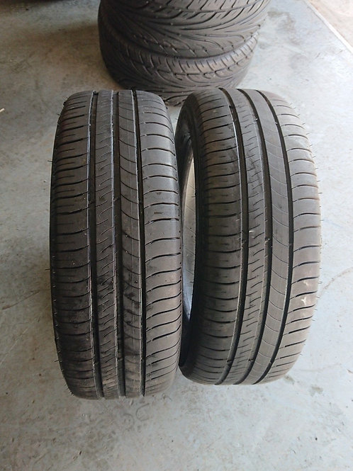 Pair of Michelin Energy saver 205/60/1 Tyres with 4mm+ Free Fitting