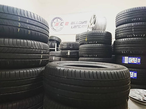 Sets of Four Branded 205/55R16 Tyres with 5mm+ Free Fitting