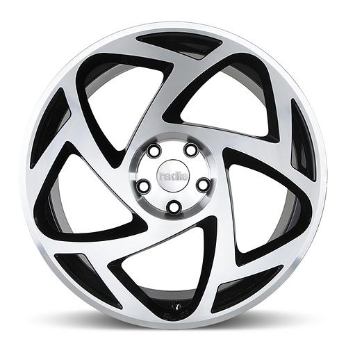 Radi8 r8s5 19x8.5J alloy wheels (machined black)