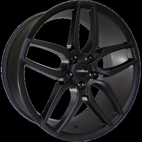 Calibre CC-U 20x9J 5x120 alloy wheels finished in matt black
