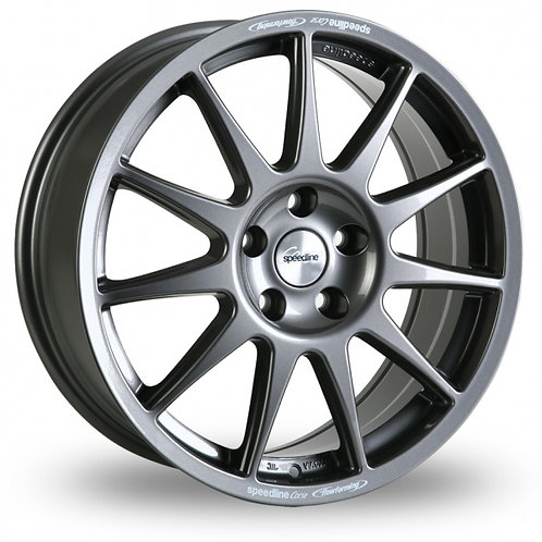 "Speedline Turini 16"" alloy wheels finished in anthracite"