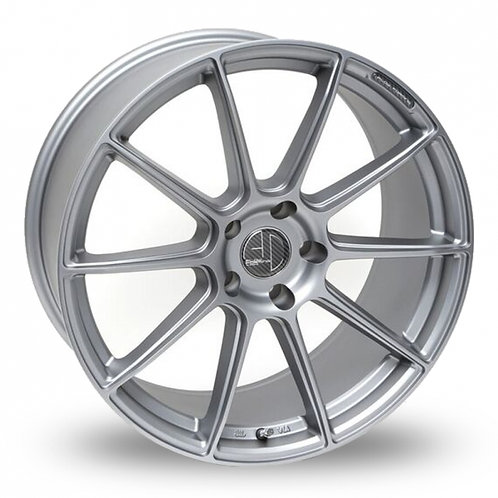 "Ac wheels FF047 18"" alloy wheels finished in silver"