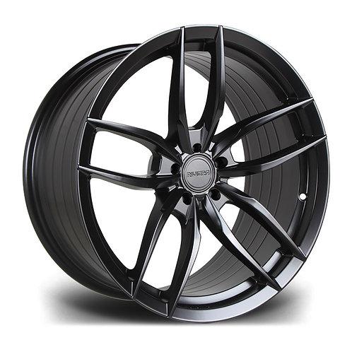 Riviera RV195 19x9.5J alloy wheels finished in matt black