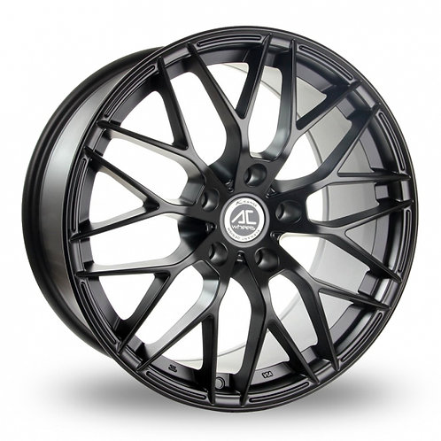 "Ac wheels saphire matt black 19"" alloy wheels"