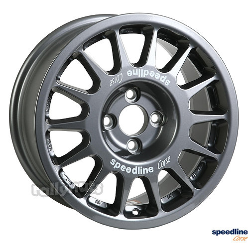Speedline 2118 15x6.5j 4x100 alloy wheels
