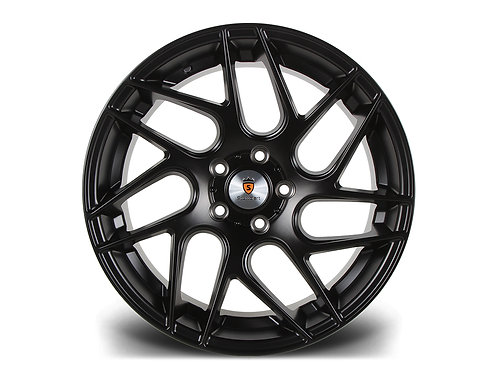 "Stuttgart ST12 18"" 5x112 alloy wheels matt black or silver"