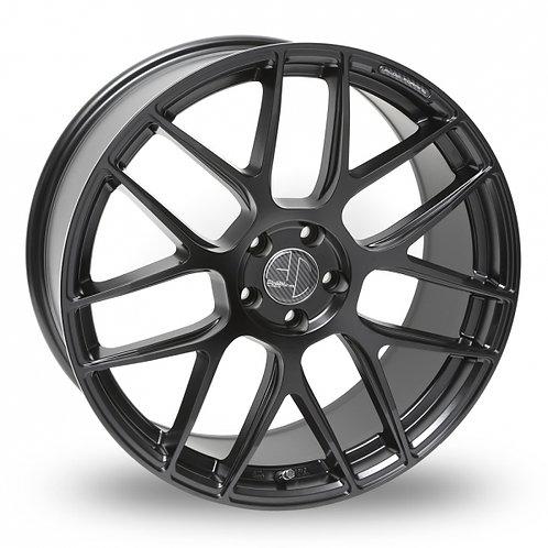 """Ac wheels FF046 satin black 19"""" alloy wheels (wider rears)"""