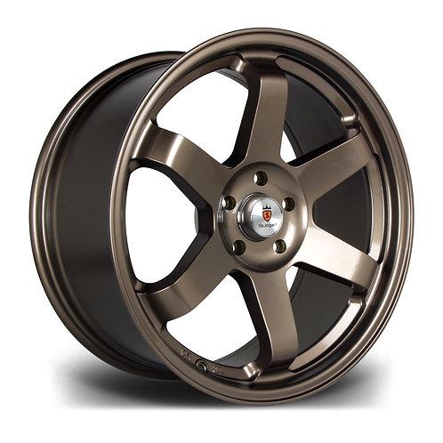 """Stuttgart ST16 18"""" alloy wheels bronze / black / gunmetal"""