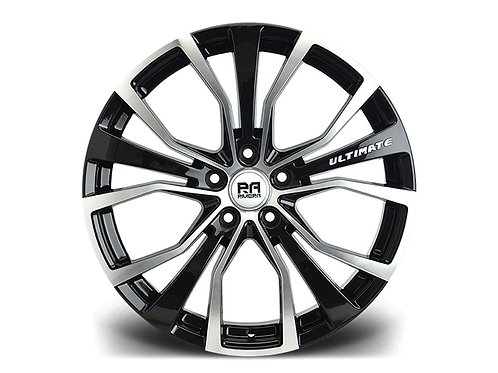 "Riviera unlimited commercial 18"" alloy wheels finished in polished b"