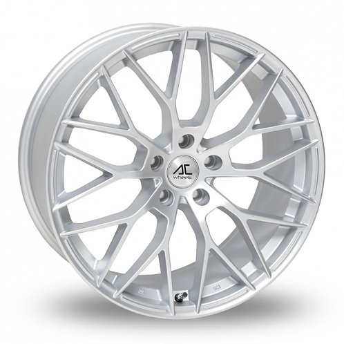 "Ac wheels saphire matt silver 18""alloy wheels"