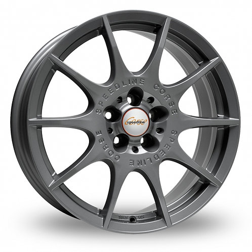 "Speedline Mamora 16"" alloy wheels finished in anthracite"