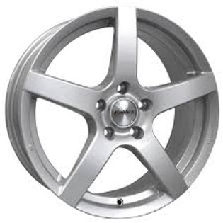 Calibre Pace five spoke alloy wheels finished in silver