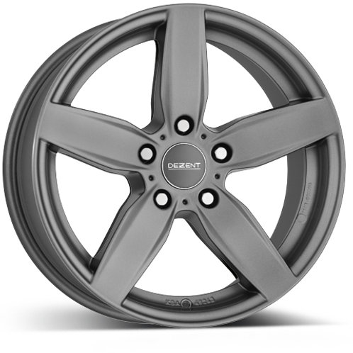 Dezent TB alloy wheels finished in grey or silver