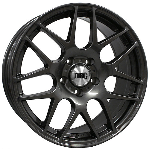 DRC DRM 18X8J ALLOY WHEELS FINISHED IN GUNMETAL OR SILVER