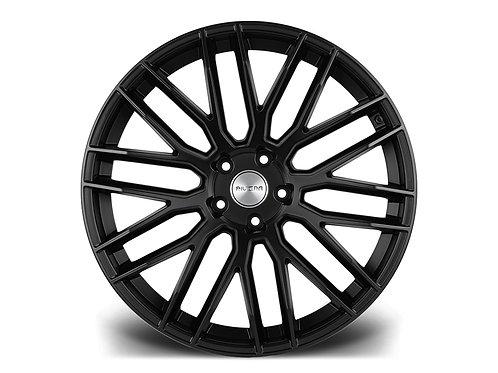 """Riviera RV126 22"""" 5x120 alloy wheels finished in matt black"""
