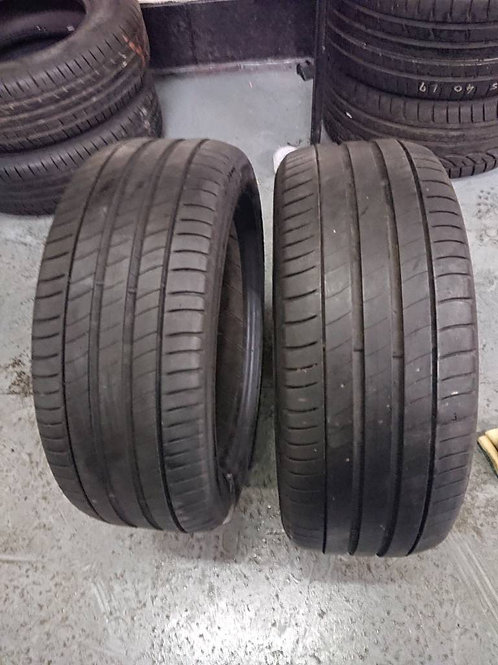 2 x Matching Michelin Pilot Sport 225/45R17 tyres with 4.5mm free fitting!