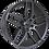 Thumbnail: Calibre CC-U 20x9J 5x120 alloy wheels finished in gunmetal grey