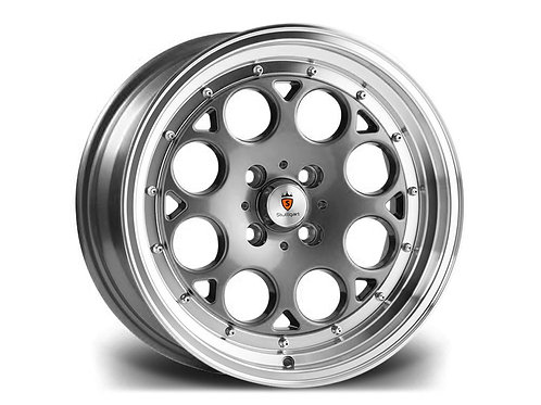 Stuttgart ST6 15x8J 4x100 alloy wheels Polished gunmetal