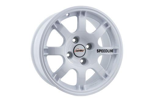 Speedline SL434 trackday 15x6.75J 4x108 Finished in white