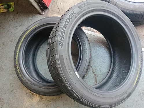 2 x Hankook Ventus 225/45R17 Tyres with 4mm Free Fitting!
