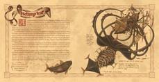 Helimyrkur Spread (Illustration BFA Thesis)