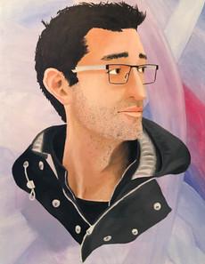 Self-Portrait – oil paint