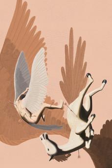 Fall of Helios – digital painting