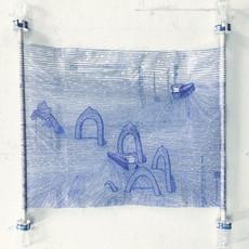 Save Money, Live Better – sharpie on Walmart plastic bags
