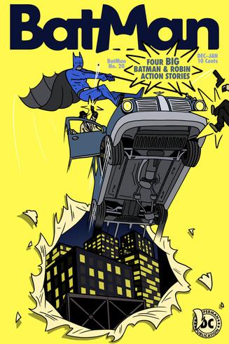 Mock-Cover Redesign for Batman No. 20