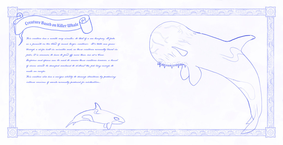 Creature Based on Killer Whale
