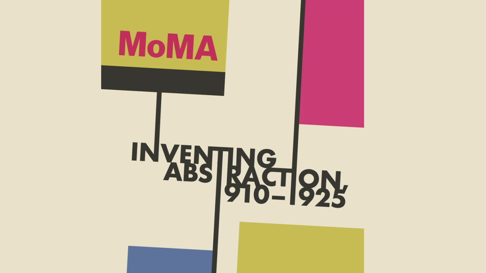 MoMA: Inventing Abstraction Bumper (mock-redesign)