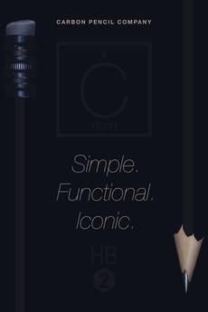 Carbon Pencil Company mock-advertisement