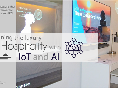 The future in luxury Hotels: Ai and IoT will change guest's experience