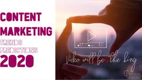 Content Marketing trends predictions 2020