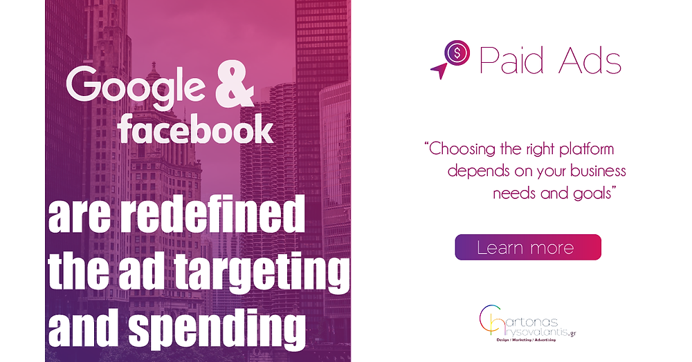 google and facebook paid ads are redefined advertising