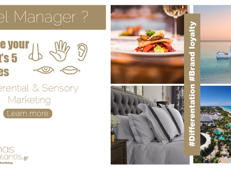 Why you should focus on Experential and Sensory marketing for your hotel?