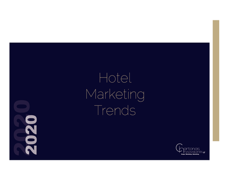 Moving forward :Moving 2020..Which are the 7  trends for hotel marketing ?