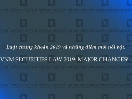 HIGHLIGHTS ON THE NEW LAW ON SECURITIES 2019