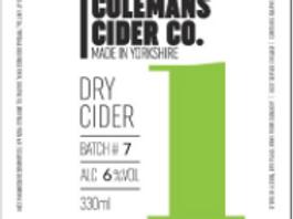 Colemans Cider-Dry Cider [4 pints]